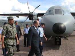 AVION  C-295 Y OTRAS AERONAVES  : EL FUTURO DE LA AVIACION DE TRANSPORTE MILITAR DEL PERU Nt_06042011_1